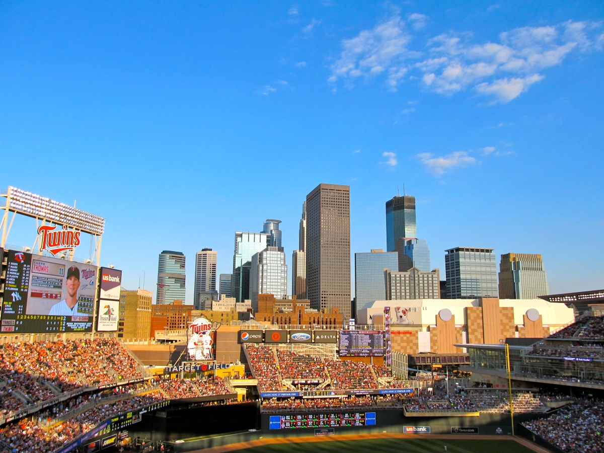Great view, from Target Field