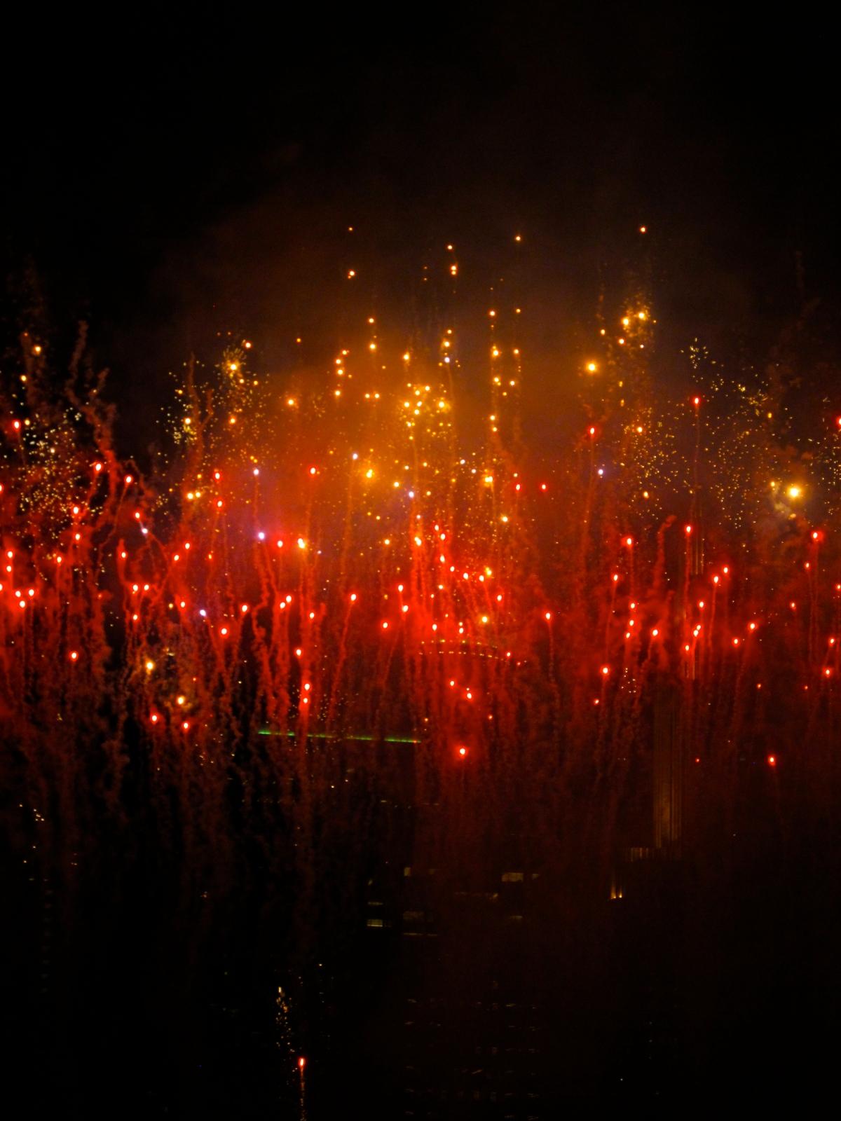 Fireworks Finale, Twins Game, July 3, 2013