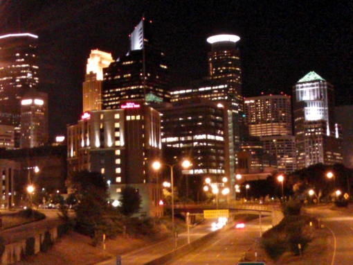 Minneapolis By Night, photo by Mike